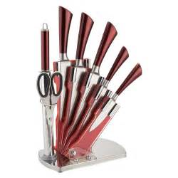 Imperial Kitchen Knives with stand royalty line rl 3tst 4pcs knife set with