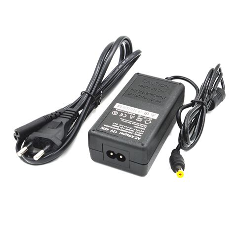 Adaptor 12v 3a 40w 12v 3 3a power supply ac adapter w cable black eu free shipping dealextreme