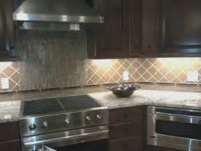 Glass Tile Backsplash For Kitchen Glass Kitchen Backsplash Modern Kitchen Other Metro