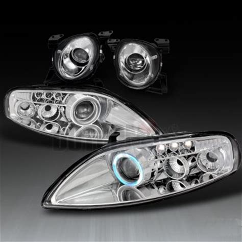 Lexus SC400 1992 1999 Clear High Beam and CCFL Halo