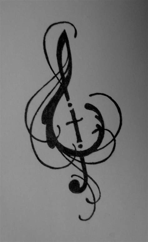 imgs for gt easy music drawing ideas music and cross design by lamorien on deviantart
