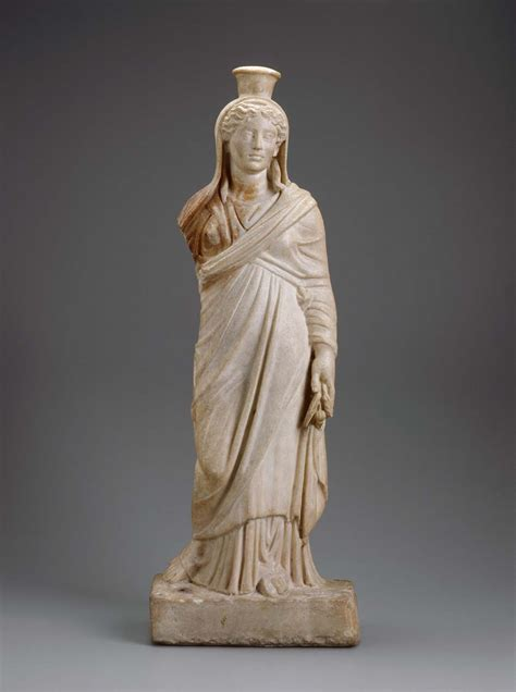 demeter greek goddess statue demeter io isis ad 160 200 greek mythology museum of