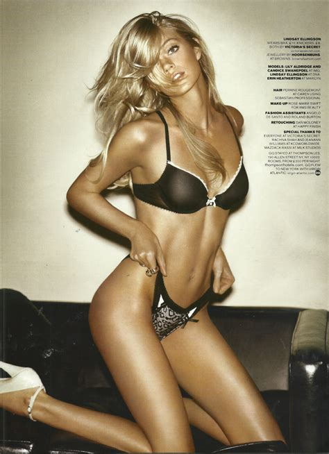 Lindsay In Gq by S Secret Images Candice Swanepoel Erin