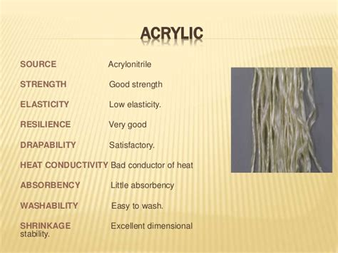 Acrylic Fiber properties and uses of acrylic fiber