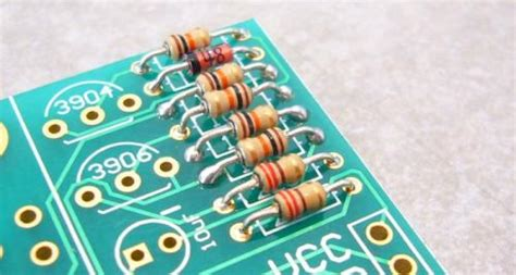 how to solder resistor beginning embedded electronics 6 sparkfun electronics