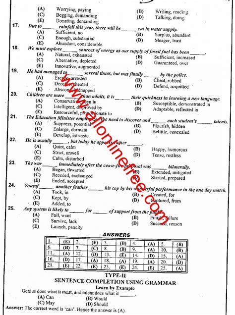 pattern paper of nts test nts gat general test sle papers gat general test book pdf nonptrodp