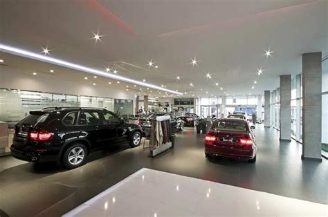 bmw showroom interior contractor for paint polish marble flooring wall paint
