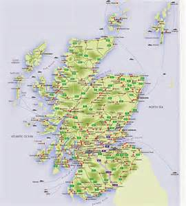 map cities only maps of scotland free printable maps