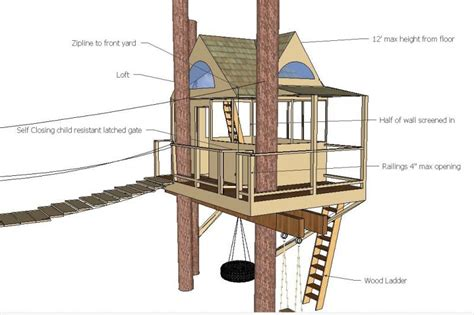 modern tree house plans 17 best 1000 ideas about simple tree house on pinterest diy tree free woodworking