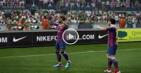 Barcelona News Goal Com | neymar s first goal with barcelona fc barcelona news