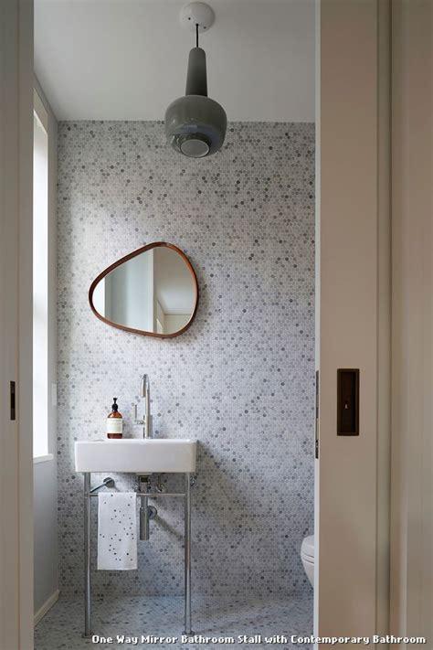 one way mirror bathroom best 25 bathroom stall ideas on pinterest
