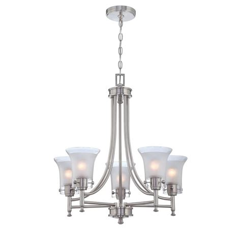 home depot ceiling ls illumine designer collection 5 light steel chandelier cli