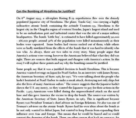 Hiroshima Essay by Hiroshima Essay Apaabstract X Fc2
