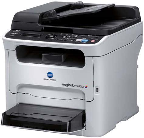 Printer Laser Warna Konica Minolta konica minolta magicolor 1690mf multifunction color laser printer electronics