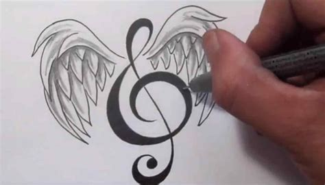 music tattoo designs tumblr of clipart library clip song lyric lyrics