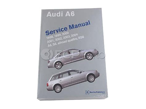audi a6 c5 service manual 1998 2004 a6 allroad quattro s6 advanced automotion audi repair manual a6 rs6 s6 bentley a604 fcp euro