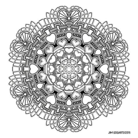 the mandala coloring book by jim gogarty 480 best images about coloring mandalas on