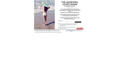 Miami Sweepstakes - madewell loves miami sweepstakes