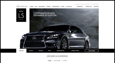 lexus usa launches new website design lexus enthusiast