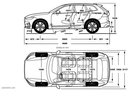Volvo Xc60 Dimensions volvo xc60 2 2017 carissime l info automobile