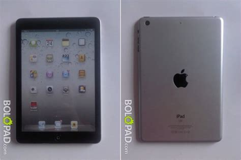 Gambar Tablet Apple gambar mini dengan port lightning mula kelihatan amanz