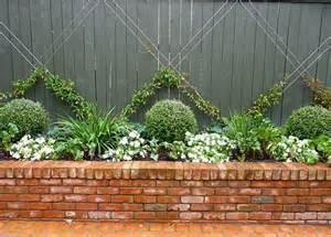 25 best ideas about brick planter on brick