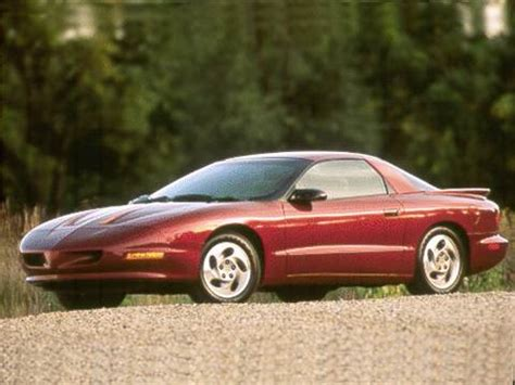 1993 pontiac firebird pricing ratings reviews kelley blue book