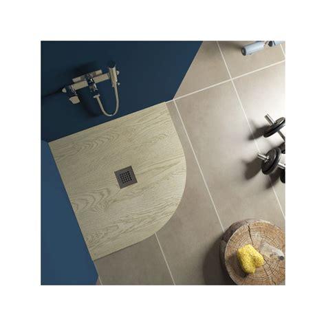 piatto doccia in legno piatto doccia in marmo resina effetto legno semicircolare