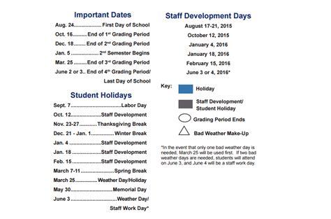 Allen Isd Calendar Allen Isd Calendar Calendar Template 2016