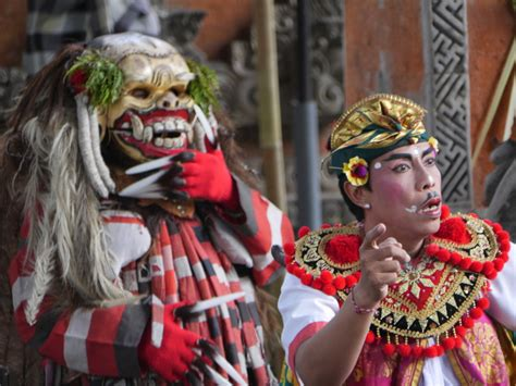 Barong Indonesia sahadewa barong and kris bali indonesia part 2 of 3