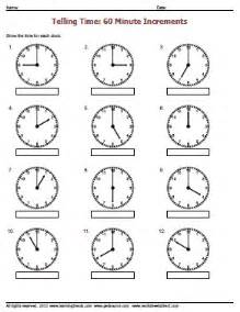 Telling time to the hour worksheets 187 worksheetsdirect com