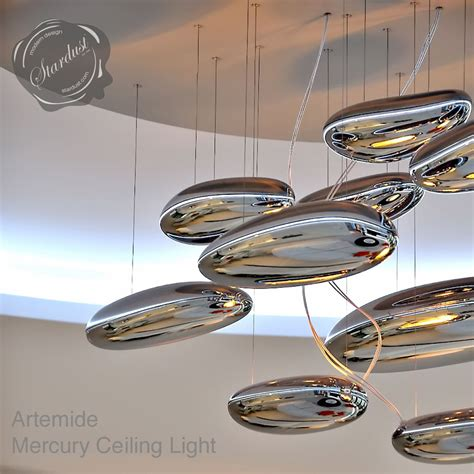 artemide mercury ceiling light by ross lovegrove stardust