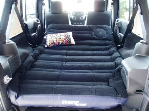 sportz air mattress for the back of a jeep wrangler unlimited need jeep jeepin