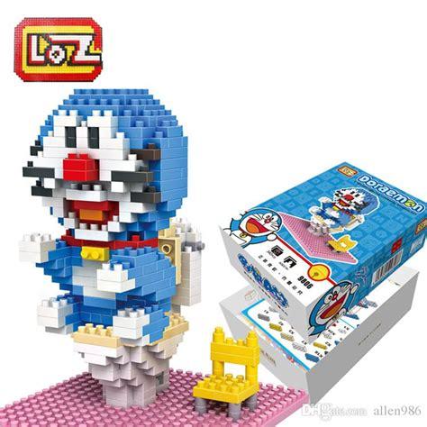 Loz Blocks 9807 310 Pcs doraemon toilet seat building blocks loz limited edition