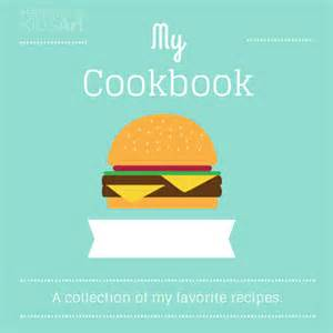 Cookbook Covers Template by My Cookbook Handmade