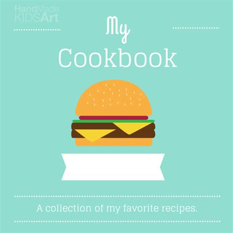 cookbook cover template my cookbook steam lab