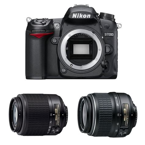 nikon d7000 best price nikon d7000 16mp dslr 2 lenses best price