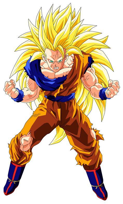 Goku Ss3 goku saiyan 3 by goku kakarot on deviantart