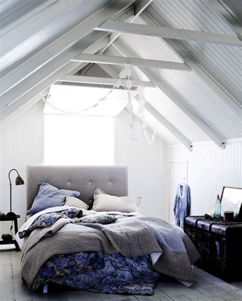 Interior Bedroom Design Scandinavian Bedrooms With Attic Ideas