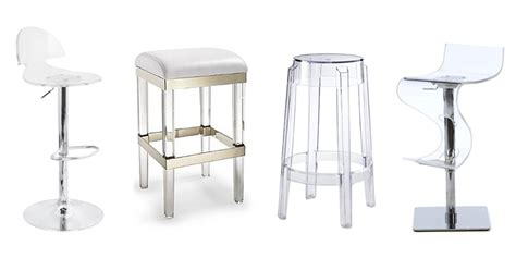 Clear Lucite Bar Stools by 10 Best Acrylic Bar Stools 2017 Clear Acrylic Bar Stools