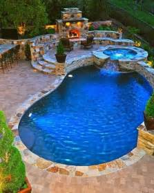 Pictures Of Backyards With Pools Beyond The Veranda