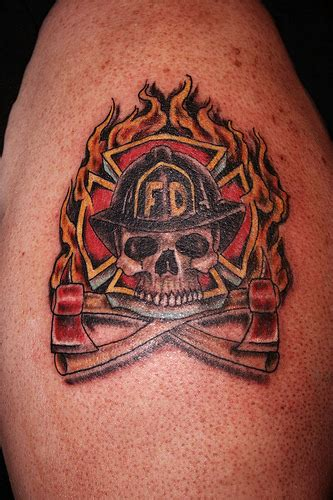 can firefighters have tattoos firefighter tattoos