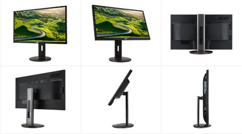 acer xf250q 24 5 quot black gaming widescreen monitor 16 9 240hz 1ms gtg g sync co 191114676806 ebay