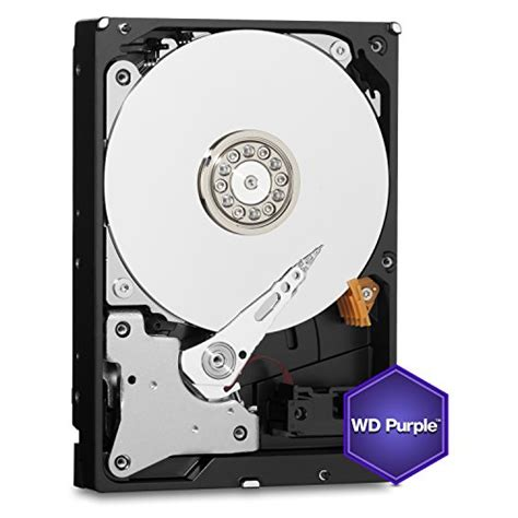 Hardisk Cctv Wd 1 wd purple 1tb surveillance disk drive 5400 rpm