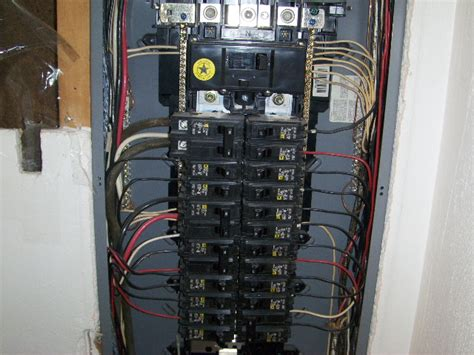 200 Amp Panel Main Breaker Not Used Electrical