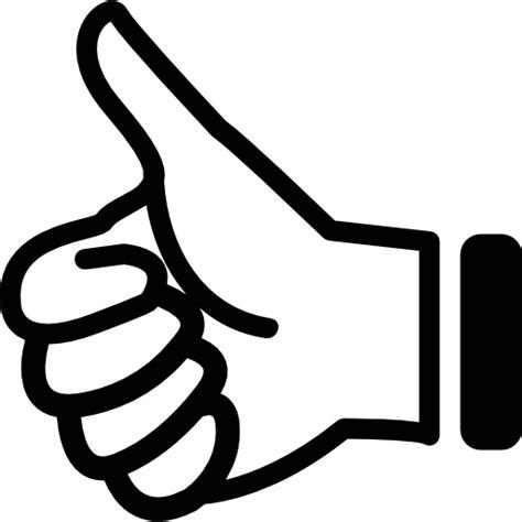 imagenes pulgar ok pulgar hacia arriba iconos gratis de gestos