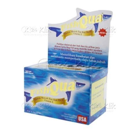 Fishqua Isi 30 Kapsul Ekstrak Minyak Hati Ikan Hiu jual beli fishqua 30 s dos k24klik