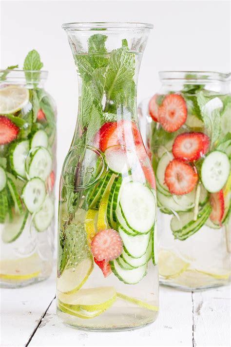 Grapefruit Cucumber Strawberry Detox Water by Best 25 Mint Water Ideas On Lemon Mint Water