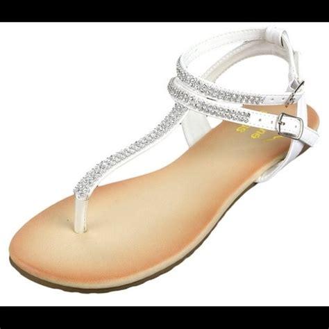 white rhinestone sandals 50 alpine swiss shoes rhinestone white sandals