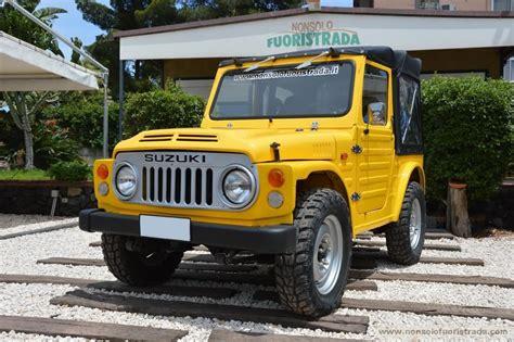 suzuki italia sede nonsolo fuoristrada suzuki lj 80 cabrio fuoristrada